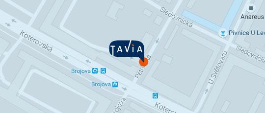 TaVia - Petřínská 2, Plzeň